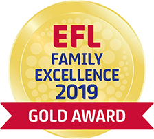ELF Family Excellence 2019 Gold Award